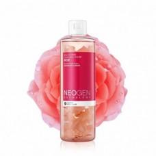 Очищающая вода с лепестками роз Neogen Dermalogy real flower cleansing water rose 300ml