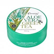Гидрогелевые патчи для глаз с алоэ вера и зеленым чаем ESTHETIC HOUSE Aloe Vera & Green Tea Hydrogel Eye Patch