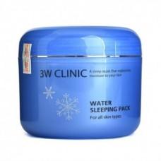 Ночная маска для увлажнения кожи 3W CLINIC Water Sleeping Pack