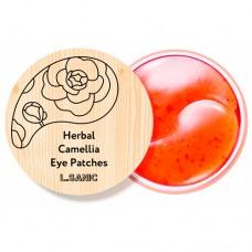 Гидрогелевые патчи с экстрактом камелии L SANIC Herbal Camellia Hydrogel Eye Patches
