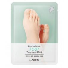 Маска для ног The Saem Pure Natural Foot Treatment Mask