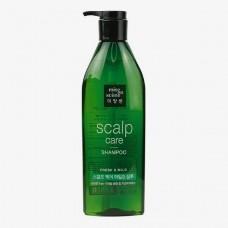 Укрепляющий шампунь Mise-en-Scene Style Green Refresh Scalp Shampoo