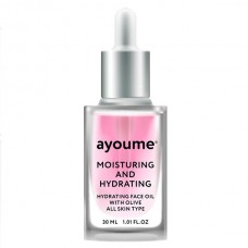 AYOUME Moisturing-&-Hydrating Face Oil with Olive – масло для лица увлажняющее 30 мл