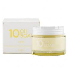 Интенсивный крем на основе 10 натуральных масел A`PIEU 10 Oil Soak Cream
