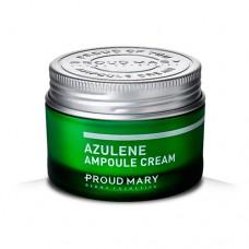 Крем с азуленом для чувствительной кожи Proud Mary Azulene Ampoule Cream