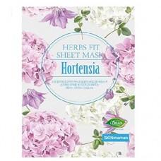 Увлажняющая тканевая маска с экстрактом гортензии NO:HJ Skin Maman Herbs Fit Sheet Mask Hortensia