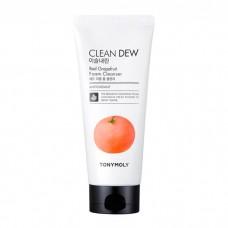 Пенка для очищения с экстрактом красного грейпфрута TONY MOLY Clean Dew Red Grapeаruit Foam Cleanser