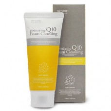 Пенка с коэнзимом Q10 3W Clinic Foam Cleansing Anti Sebum