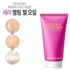 Гелевое масло для очищения кожи с пептидами и керамидами So Natural Cera + Peptide Clean Wash Gel Oil