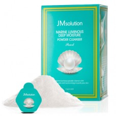 Увлажняющая энзимная пудра для умывания с жемчугом JM Solution Marine Luminous Deep Moisture Powder Cleanser Pearl