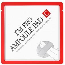 Спонж для сияния кожи, 10% витамина С Wish Formula i`m pro vitamin c ampoule pad
