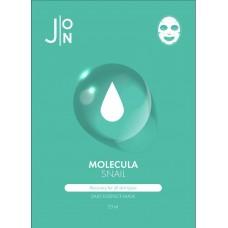 Mаска с улиточным муцином J:ON Molecula Snail Daily Essence Mask