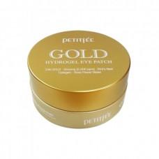 Гидрогелевые патчи с золотом для кожи вокруг глаз PETITFEE Gold Hydrogel Eye Patch