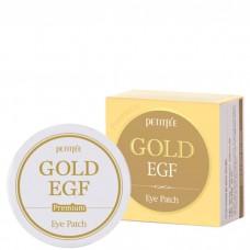 Гидрогелевые патчи от морщин вокруг глаз с золотом и EGF PETITFEE Premium Gold & EGF Eye Patch