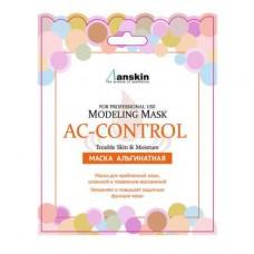 Альгинатная маска акне-контроль для проблемной кожи ANSKIN Modeling Mask AC-Control Trouble Skin & Moisture 25г