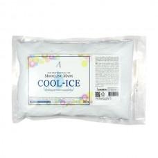 Альгинатная маска охлаждающая и успокаивающая с экстрактом мяты ANSKIN Modeling Mask Cool-Ice Soothing & Management (мягкая упаковка)