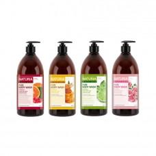 Гель для душа на основе натуральных экстрактов 750 ml EVAS Naturia Pure Body Wash - №1