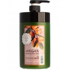 Маска для волос с маслом арганы Welcos Confume Argan Treatment Hair Pack 1000 ml.