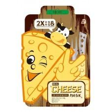 Тканевая маска с ферментированным сыром MJ CARE Real Cheese Mask - успокаивающая