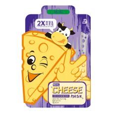 Тканевая маска с ферментированным сыром MJ CARE Real Cheese Mask - укрепляющая