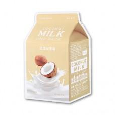 Молочные тканевые маски A`Pieu Milk One Pack - Coconut