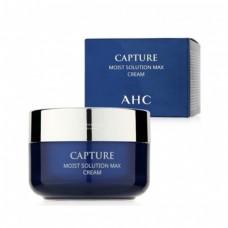 Крем для лица увлажняющий оживляющий A.H.C Capture Moist Solution Max Cream 50ml