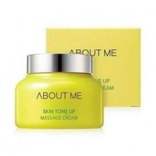 Массажный крем для улучшения тона кожи About Me Skin Tone Up Massage Cream