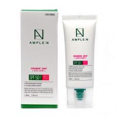 Солнцезащитный крем с керамидами Ample:N Ceramide Shot Sun Care SPF 50+/PA++++