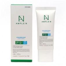 Крем солнцезащитный для лица Ample:N Hyaluron Shot Sun Care SPF 50+/PA++++ IRF 20