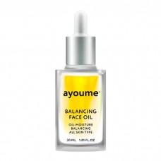 AYOUME Balancing Face Oil with Sunflower – масло для лица восстанавливающее