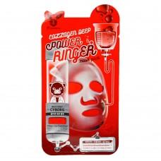 Увлажняющие тканевые маски Elizavecca Deep Power Ringer Mask Pack - С коллагеном
