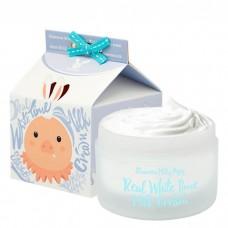 Крем осветляющий с козьим молоком для лица ELIZAVECCA Real White Time Milk Cream