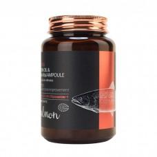 Сыворотка всё-в-одном с маслом лосося и пептидами FARMSTAY Salmon Oil & Peptide Vital Ampoule