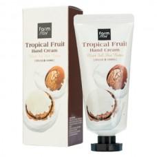 Крем для рук суперпитательный Тропические фрукты с маслом ши FarmStay Tropical Fruit Hand Cream Moist Full Shea Butter 50мл