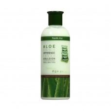 Освежающая эмульсия с алоэ вера FARMSTAY Visible Difference Fresh Emulsion Aloe
