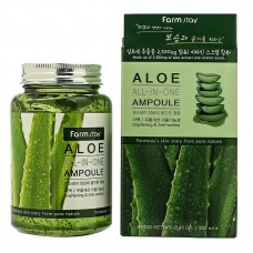 Сыворотка всё-в-одном с экстрактом алоэ FARMSTAY Aloe All-In-One Ampoule