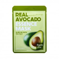 FarmStay Real Avocado Essence Mask – тканевая маска с экстрактом авокадо