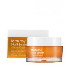 Оживляющий крем с витаминами FARMSTAY Dr.V8 Solution Vitamin Cream