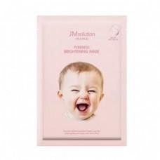 JMsolution Гипоаллергенная осветляющая маска для лица - Mama Pureness Brightening Mask