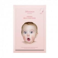 Тканевая маска для сухой и чувствительной кожи JM Solution Mama Pureness Mela Clear Mask