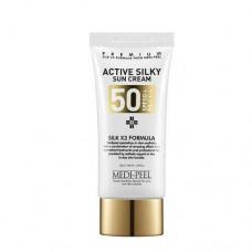 Солнцезащитный Шелковый Крем MEDI-PEEL Active Silky Sun Cream (50ml)