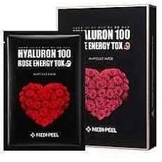 Маска Детокс С Экстрактом Розы MEDI-PEEL Hyaluron 100 Rose Energy Tox