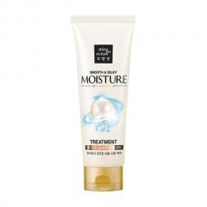 Увлажняющая маска для волос Гладкость и шелковистость MISE EN SCENE Smooth & Silky Moisture Treatment