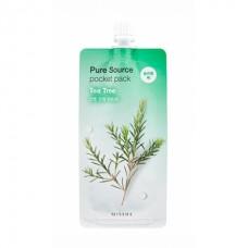 Компактные маски для лица Missha Pure Source Pocket Pack - Чайное дерево