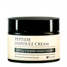 Высококонцентрированный пептидный крем для укрепления кожи MIZON Peptide Ampoule Cream