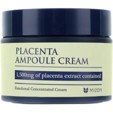 Антивозрастной, укрепляющий и питательный плацентарный крем MIZON Placenta Ampoule Cream