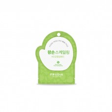Отшелушивающий диск с зелёным виноградом FRUDIA Green Grape Pore Peeling Pad
