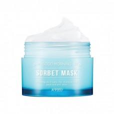 Утренняя увлажняющая маска-сорбет для лица A`Pieu Good Morning Sorbet Mask