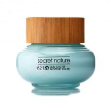 Разглаживающий крем для лица с кактусом SECRET NATURE Jeju Cactus Moisture Cream