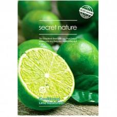 Листовая маска Secret Nature Sheet Mask - лайм